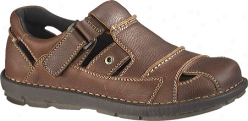 Hush Puppies Backrush (men's) - Brown Leather