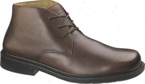 Hush Puppies Broker (men's) - Brown Tumbled Leather