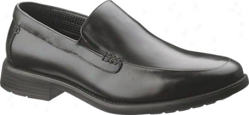 Silence Puppies Emit (men's) - Black Full Grain Leather