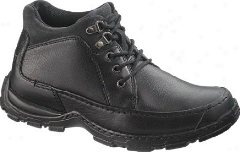 Hush Puppies Ericson (men's) - Black Tumbled Leather/suede