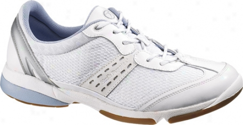 Hush Puppies Hatha (women's) - White/silver Combo