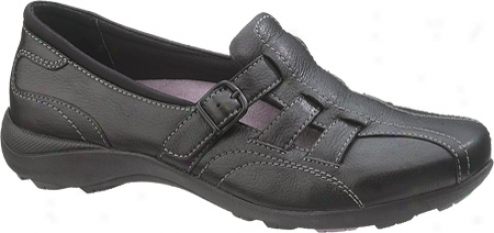 Hush Puppies Ionic (women's) - Black Leather