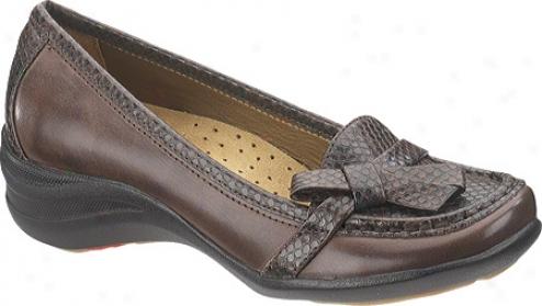 Appease Puppies Iria (women's) - Dark Brown Leather