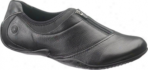 Hush Puppies Position (women's) - Black Leather