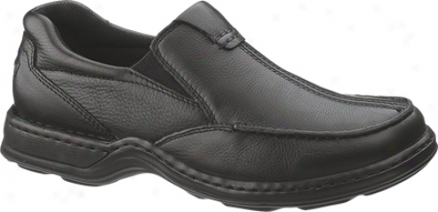 Hush Puppies Sawyer (men's) - Black Leather