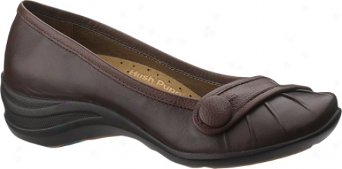 Hush Puppies Sonnet (women's) - Coffee Bean Leather