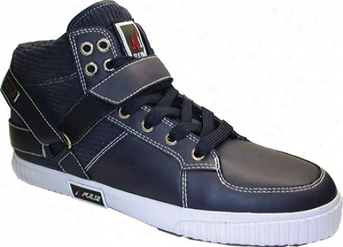 Impulse P1271 (men's) - Navy Action Leather/oiled Suede