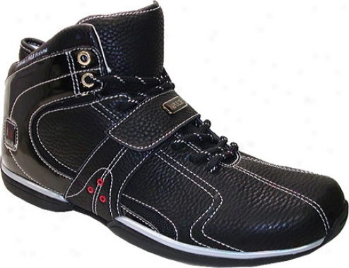 Impulse P5115 (men's) - Black Tumbled Leather/action Leather
