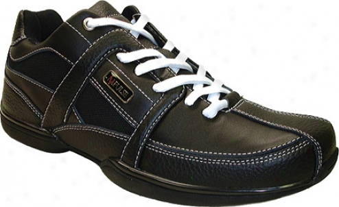 Impulse P5117 (men's) - Black Tumbled Leather/action Leather