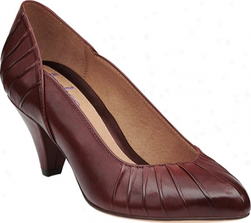 Indigo By Clarks Carlotta (women's) - Burg8ndy Leather