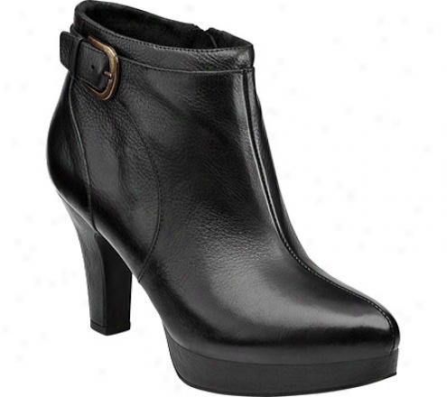 Indigo By Clarks Judy Lee (women's) - Black Leather