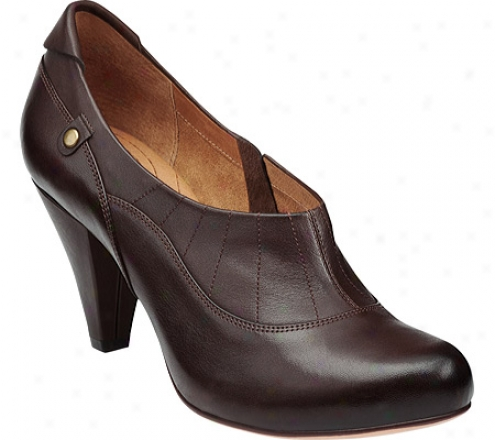 Indigo By Clarks Julia Grace (women's) - Dark Brown Leather