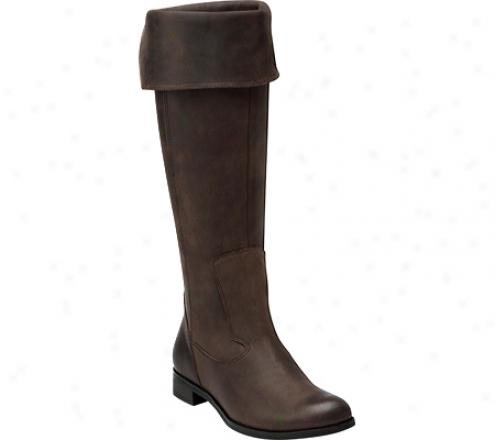 Indigo By Clarks Leslie Sharon (wwomen's) - Nutmeg Oily Leather