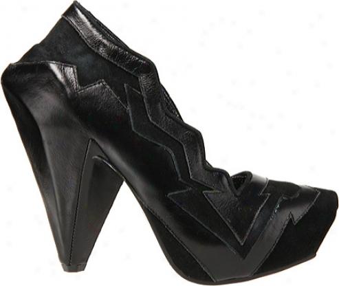 Irregular Choice Amazonianic (women's) - Black Leather