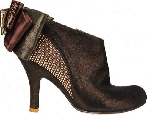 Irregular Choice Baby Besuty (women's) - Bronze Leather