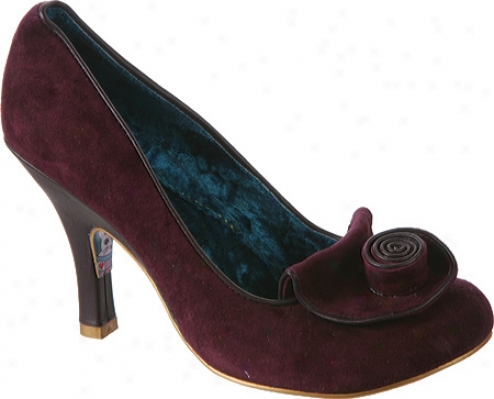 Irregular Choice Rose Slip (women's)_- Dark Purple