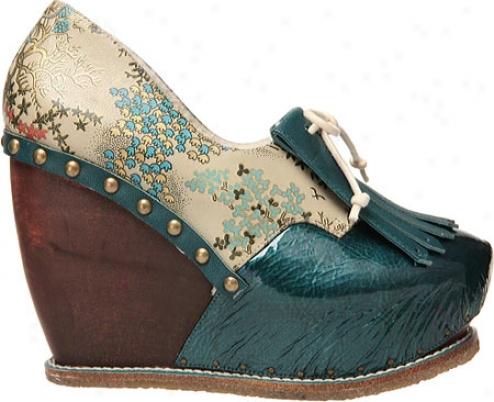 Anomalous Choice Shinanigans (women's) - Beige Print Leather