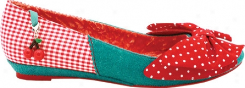 Irregular Choice Trinkle Toes (women's) - Red/bkue