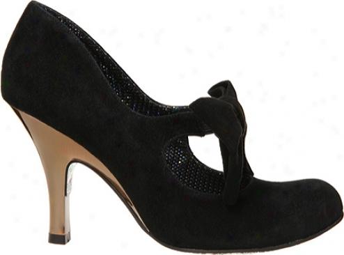 Irregular Choice Windsor (women's) - Black Suede