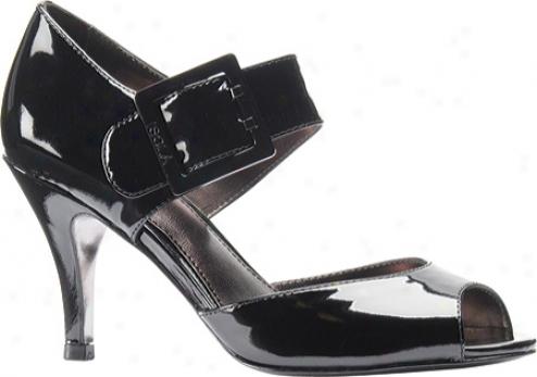 Isola De1la (womdn's) - Black/black Patent