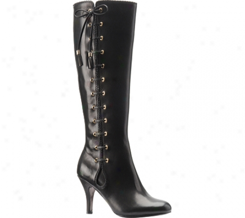 Isola Diva (women's) - Black Calfskin