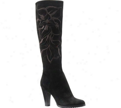 Isola Gabriella (women's) - Black Suede