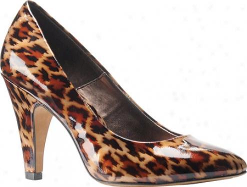 Isola Sapphire (women's) - Leopard Bronze Patent