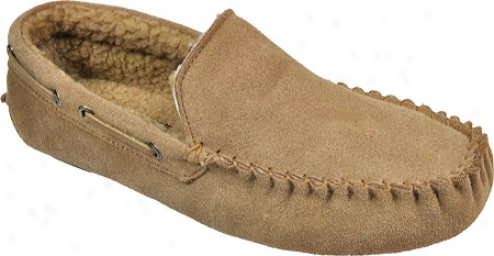 Izod Slm5832 (men's) - Tan Suede