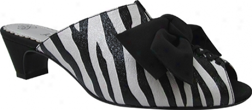 J. Renee Sarika (women's) - Black/white Zebra