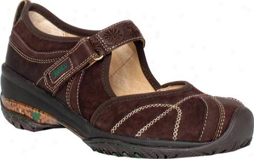 Jambu Catskills (owmen's) - Brown Galileo Leather/nubuck