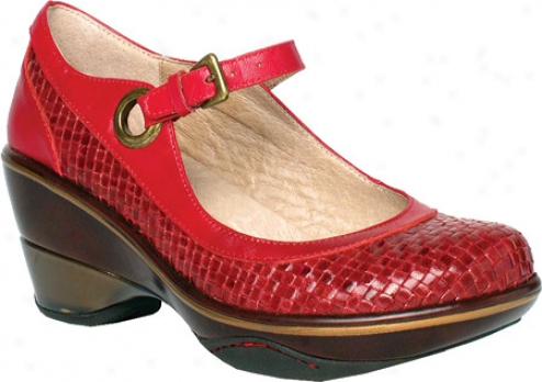 Jambu Seoul (women's) - Red Hand Wlven Leather