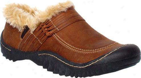 Jambu Stowe (women's) - Brown Captain Leather