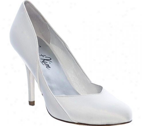 Jen + Kim Darling (women's) - White Satin