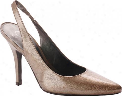 Jessica Simpson Bertha (women's) - Bubbly Patent Metallic Leather