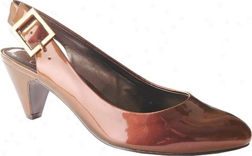 Jessiac Simpson Dlebie (women's) - Rugged Brown Iridescent Patent