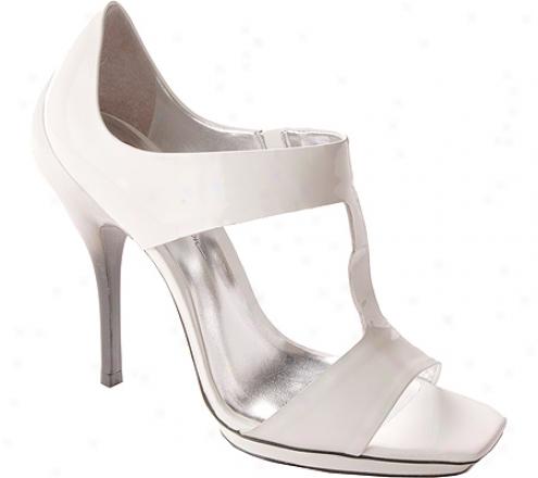 Jessica Simpson Jinkx (women's) - Bright White/patent/wwhite/black Degrede Shiny