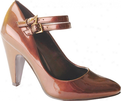 Jessica Simpson Manning (women's) - Rugged Brrown Iridescent Patent