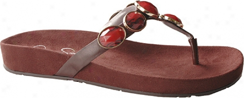 Jessica Simpson Misana (women's) - Dark Chocolate Nappa