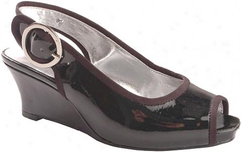 Jessica Simpson Penn (girls') - Black Patent/cork
