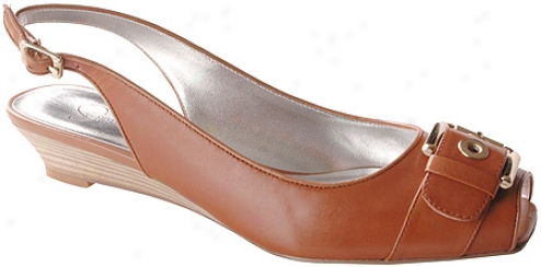 Jessica Simpson Tozi (women's) - Dark Tan Antiqued/natural Leather