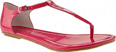 Jessica Simpson Vida (women's) - Deep Pink Patent
