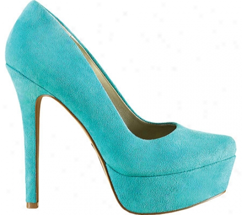 Jessica Simpson Waleo (women's) - Miami Green Kid Suede