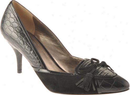 Joan & Dabid Alta (women's) - Black/multi Croc