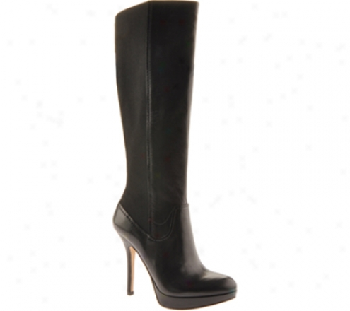 Joan & David Faron (women's) - Blacm/black Leather