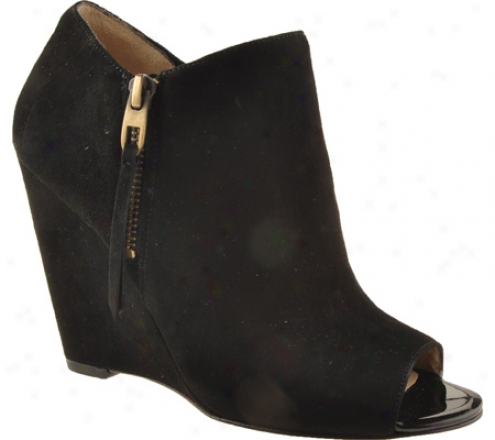 Joan & David Opal (women's) - Black Suede