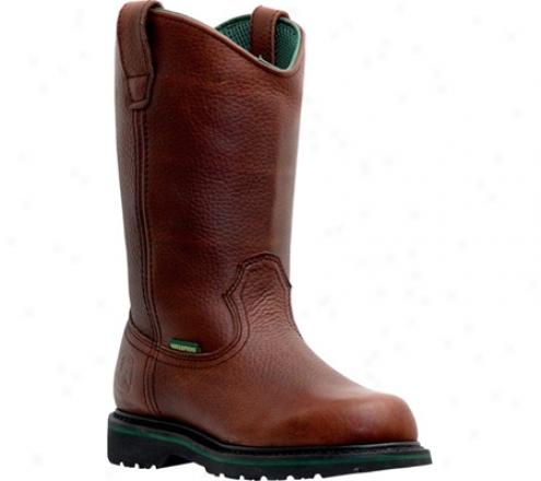 """""""john Deere Boots 10"""""""" Waterproof Wellington 4283"""""""" (men's) - Gloomy Brown"""""""