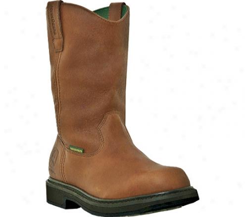"""""""john Deere Boots 11"""""""" Waterproof Wellington 4202 (men's) - Maple Waterproof Full Grain Leather"""""""
