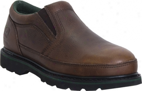 John Deeet Boots Safety Toe Twin Gore Slip-on 7325 (men's) - Briar Tumbled/oiled Leather