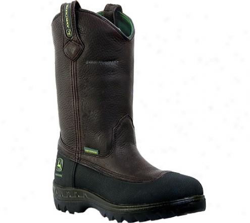 """john Deere Boors Wct 11"""" Wellington (men's) - Brown"""