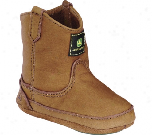 John Deere Boots Wellington 0213 (infants') - Walnut Leather